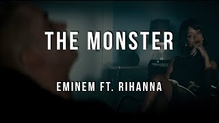 Eminem The Monster Ft. Rihanna (Lyrics)