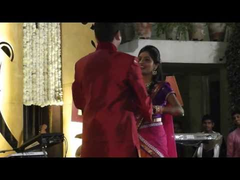 Couple Dance Tum hi ho Aashiqui 2 and Hosana ( Sangeet Sandhya Riken - Nirja )