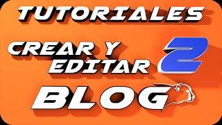 Como crear un blog en Blogger 2014  y editarlo. Parte 2