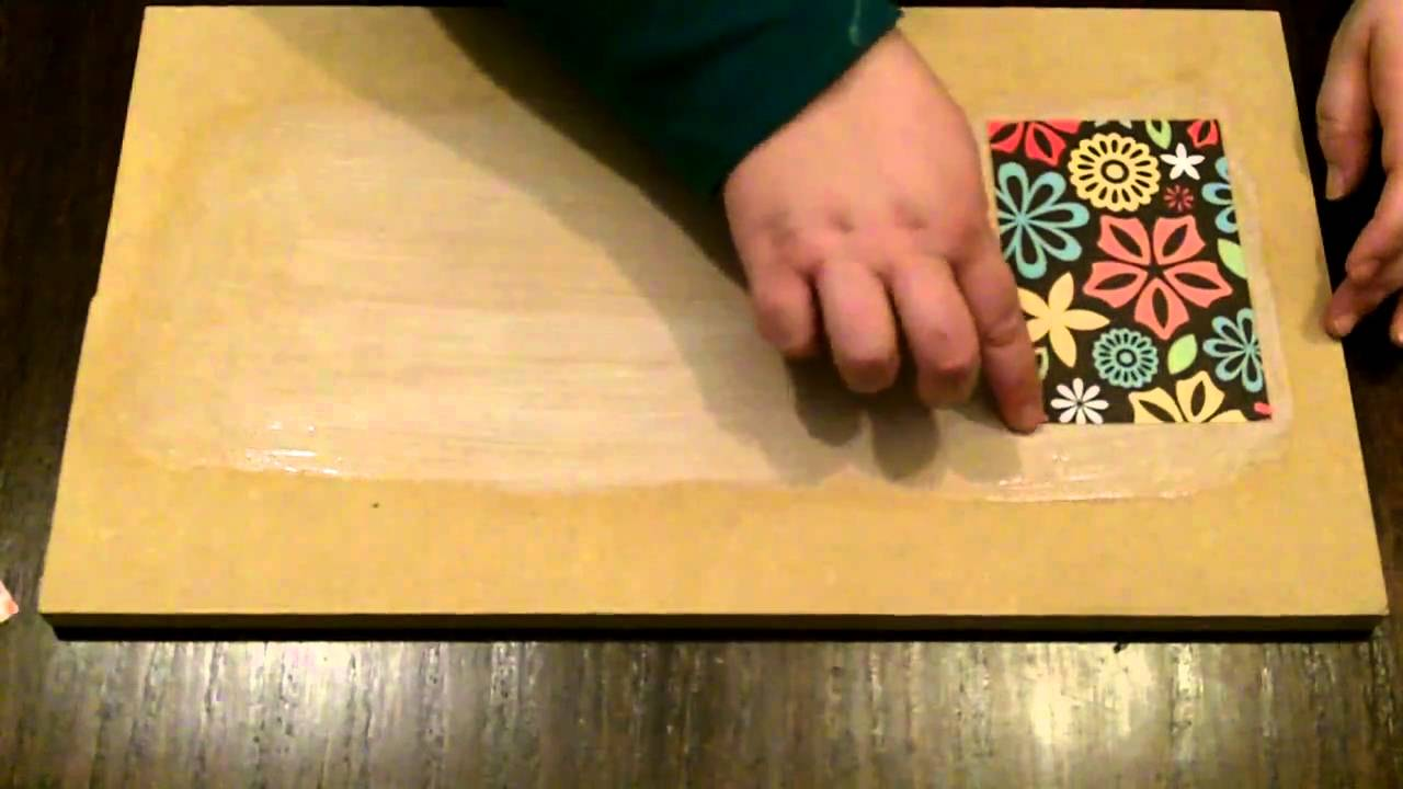 How To Decoupage With Mod Podge Without Bubbles And