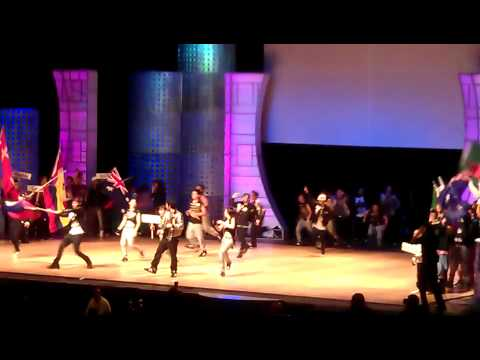 Team Philippines in the 2011 World Hip Hop International Dance Championship Finals