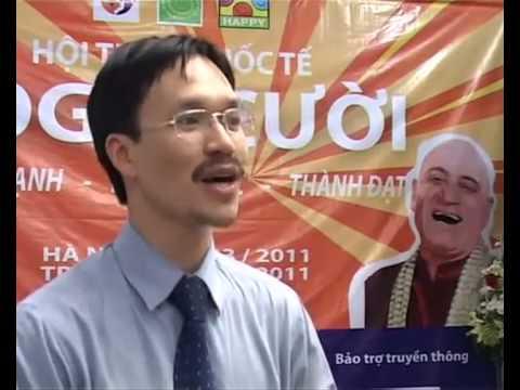 Laughter Yoga (yoga cười) Training in Vietnam