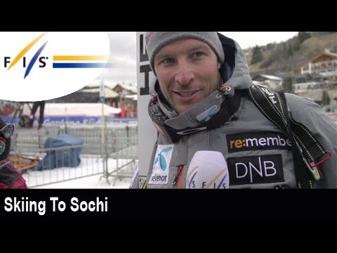 Skiing to Sochi with Aksel Lund Svindal