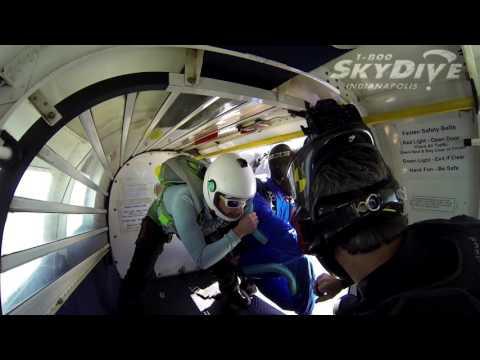 Benjimen Busbee's Tandem skydive!