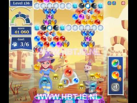 Bubble Witch Saga 2 level 136