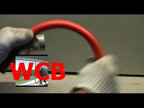 SIMPLE QUICK WAY TO HEAT AND BEND PLASTIC PVC PIPE  (Now with CC)