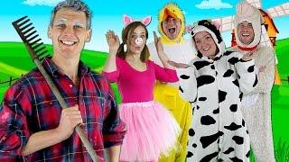Old MacDonald Had a Farm - Kids nursery rhymes