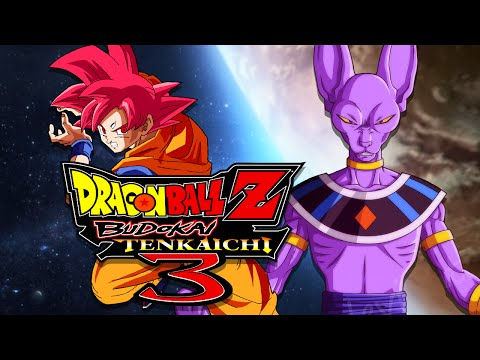 DBZBT3: SSJ God Goku VS Lord Beerus (Duels)