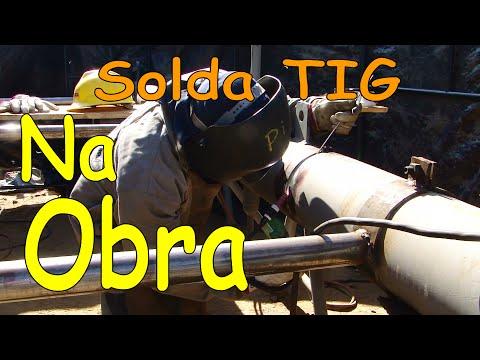 Vídeo aula - Passe de raíz - Solda TIG - Tubo  SA 335 (P11).avi