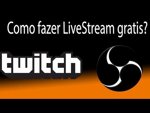 Como fazer uma LiveStream Gratuita atravez do TwitchTV usando OBS (Open Broadcaster Software)