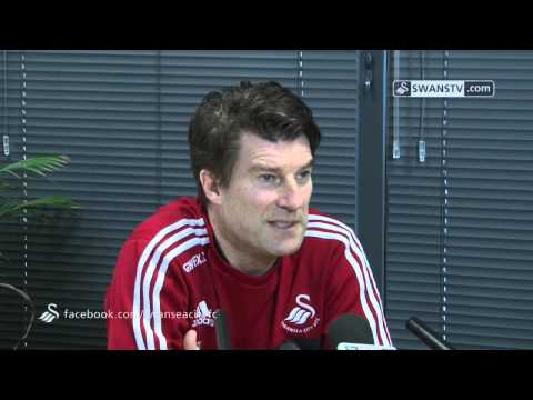 Swansea City Video: Michael Laudrup speaks ahead of Fulham