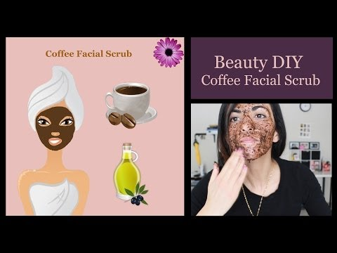 BEAUTY: Coffee Facial Scrub DIY!