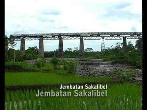 Seribu Pesona Jembatan Kereta Api Indonesia