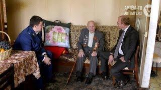 Спасибо за Победу! Глава города навестил ветерана ВОВ на дому
