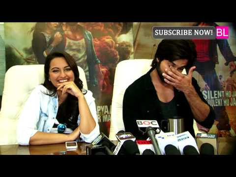 Interview of Shahid Kapoor and Sonakshi Sinha for R...Rajkumar