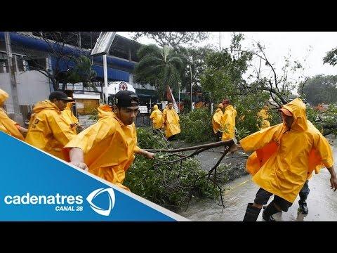 Tifón Rammasun deja 38 muertos en Filipinas / Rammasun Typhoon leaves 38 dead in Philippines