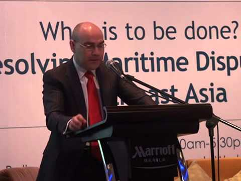 Presentation of Dr. Ian Storey at the Angara Centre forum on maritime disputes