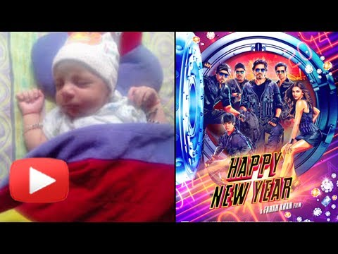 Shahrukh Khan's Surrogate Baby AbRam On The Sets Of Happy New Year!