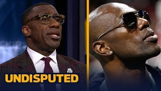 Shannon Sharpe on Terrell Owens declining to attend Hall of Fame induction | NFL | UNDISPUTED