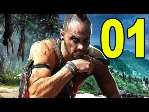 Far Cry 3 - Part 1 - Hostage (Let's Play / Walkthrough / Playthrough)