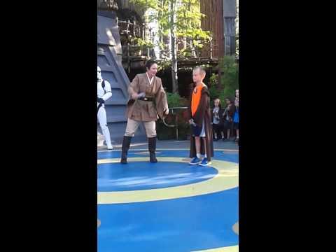 Noah Battling Darth Vader