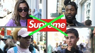 NEW YORK HATES SUPREME? AND OTHER STREETWEAR TRENDS // Fung Bros On The Street