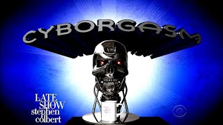 Stephen Colbert's Cyborgasm: Artificial Intelligence