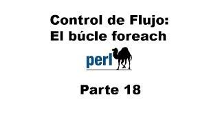 Perl tutorial. Parte 18