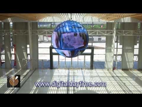 ICE Spheronic 2.5m 360 Degree LED Globe Screen