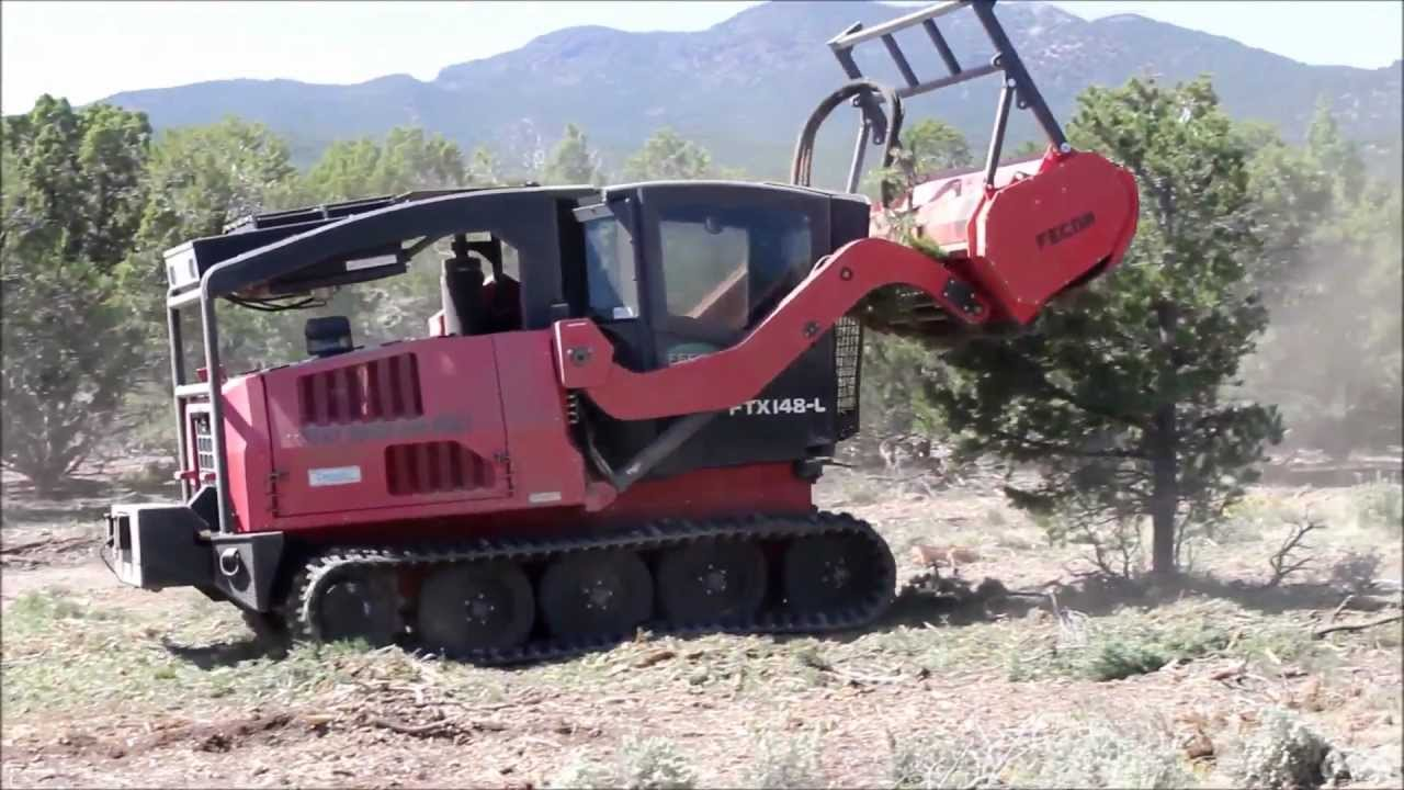 Mulching Machine Forestry Mulcher Southern Utah