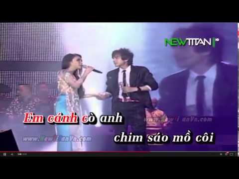 Chim Trắng Mồ Côi karaoke song ca với Hoàng Định