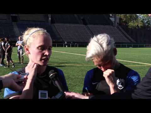 Post-Match Interview: Kim Little & Jess Fishlock