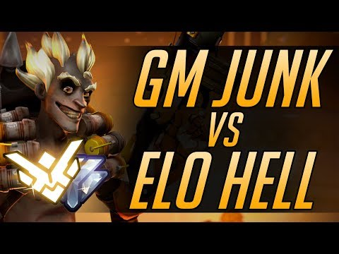 How a GM Junkrat DOMINATES in ELO HELL | Overwatch Guide