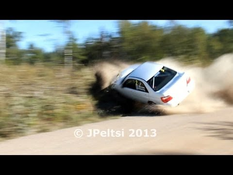 Best of finnish rally crashes 2013 by JPeltsi