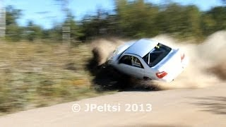 Vidéo Best of finnish rally crashes 2013