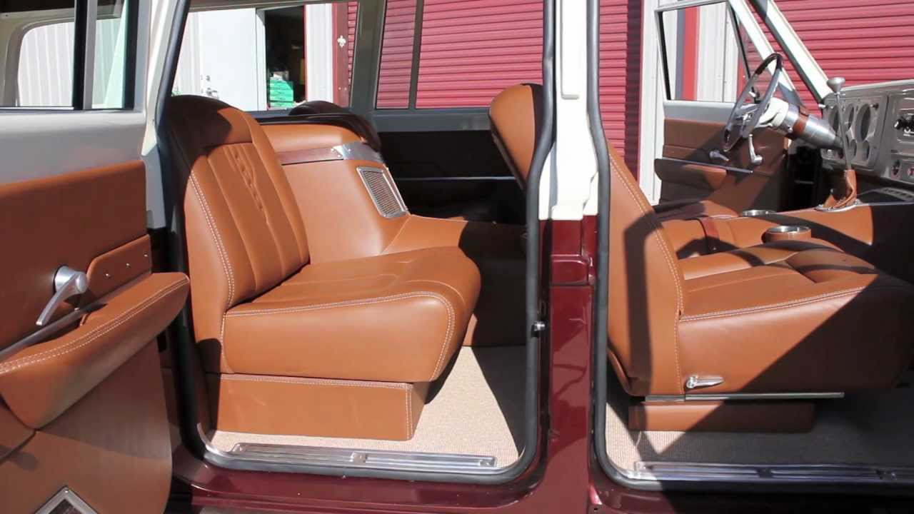 Hix Design Custom 39 71 Suburban Interior Youtube