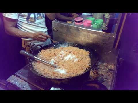 Indonesia Street Food: Fried Rice (Nasi Goreng) @Braga Culinary Night, Bandung (Jan 25, 2014)