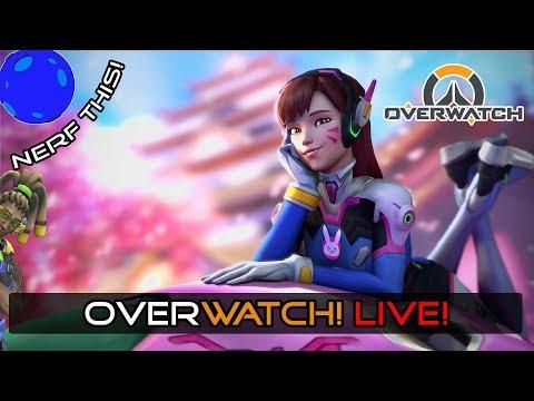 | 🔴 OVERWATCH Gameplay | I'm Back #5052 lol 🔴 | PC Livestream 8/20/18