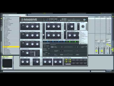 Native Instruments Massive - House/Trance Stabs
