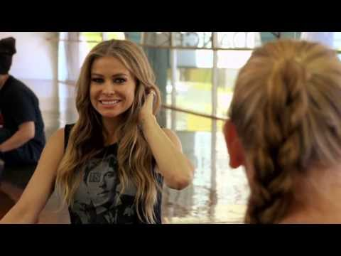 Carmen Electra, Mark Hamill and Chef BeLive on Danish TV
