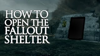Nuketown How To Open The Fallout Shelter! (Black Ops 2