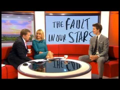 Ansel Elgort Interview on BBC Breakfast 17/06/14