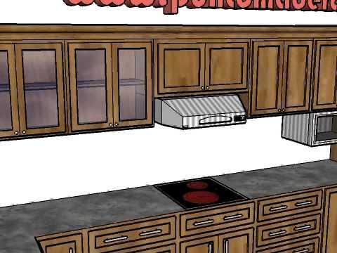 Mes n o encimera de cocina en granito y madera s lida - Encimeras de granito para cocinas ...