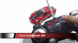 Carro Transformer Giros 360 Control Remoto Bateria