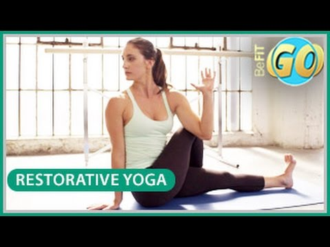 Restorative Yoga Routine: 10 Min- BeFiT GO