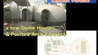 Dome House Model Ideas