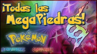 Pokémon: ROZA Localización De TODAS Las Mega Piedras