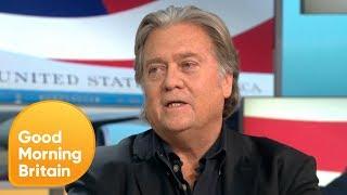 Susanna Reid Debates Steve Bannon over Trump's Brexit Criticism | Good Morning Britain