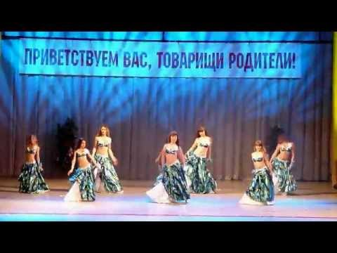 Belly dance group of children 9-13 years