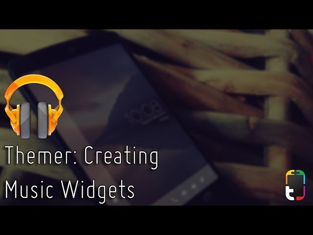 Themer: Creating Music Widgets